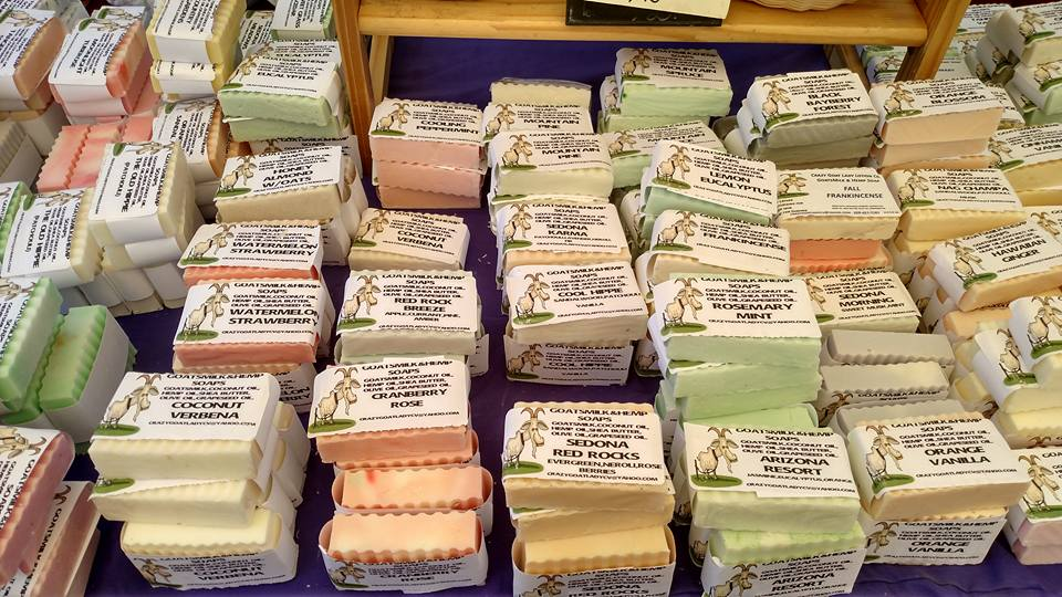 crazy goat soap